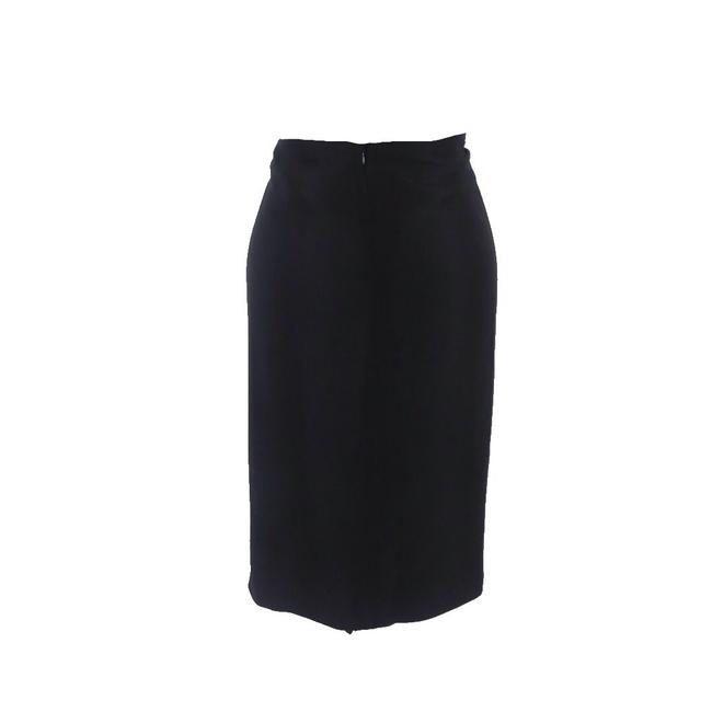 Magaschoni Knotted Waist Skirt Black