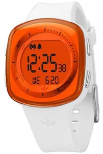 adidas Adidas Unisex Sports Watch ADH6045 White Digital/Comes With Generic Box