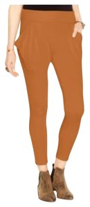 Free People Drapey Harem Casual Relaxed Pants Tobacco