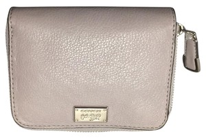 Coach COACH MADISON LEATHER MEDIUM ZIP AROUND WALLET