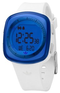 adidas Adidas Unisex Sports Watch ADH6024 White Digital/Comes With Generic Box