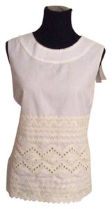 Tory Burch Top White - ivory