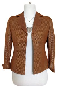 Akris Brown Leather Jacket