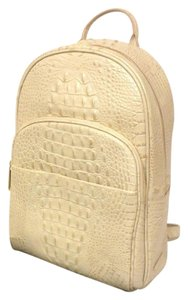 Brahmin Dartmouth White Leather M46151 Pack Dartmouth Backpack