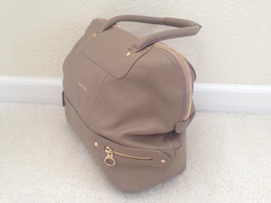 See by Chloé Leather Tote in Beige