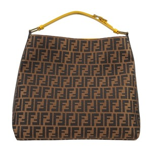 Fendi Pequin Hobo Shoulder Bag