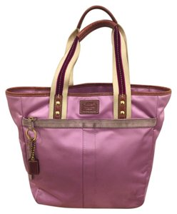 Coach Tote in Purple