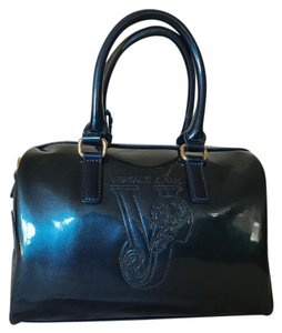 Versace Jeans Collection Satchel in Blue