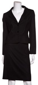 Valentino Valentino Black 2 PC Skirt-Suit