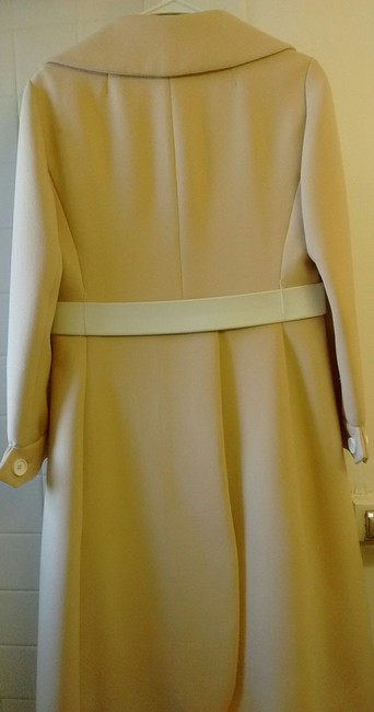 Helft's Beverly Hills Vintage Coat With Matching Dress Trench Coat Image 1