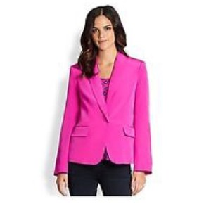 Lilly Pulitzer Campbell Silk Pink Jacket