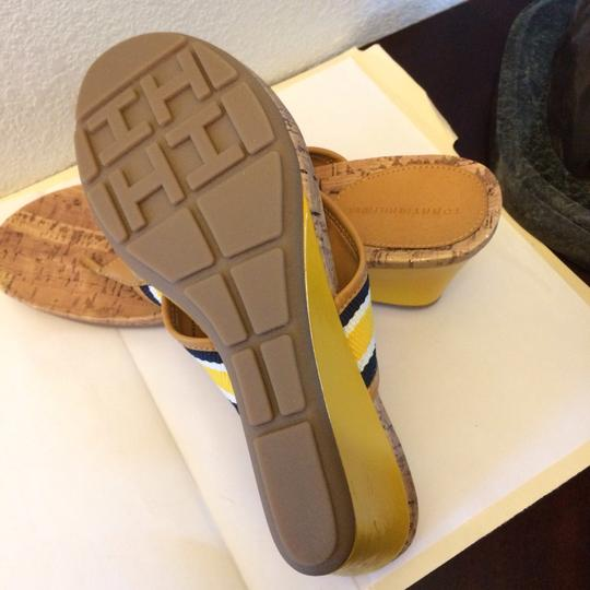 Tommy Hilfiger Navy/yellow Sandals