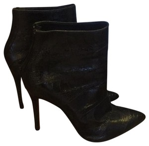 Christian Louboutin Alligator 4 In Heel Black Boots