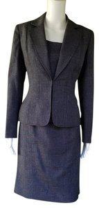Kasper KASPER Gray 3 pc Career Skirt Suit 4
