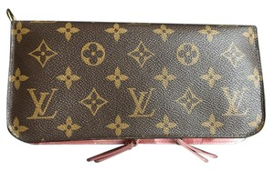 Louis Vuitton Monogram Insolite Wallet with Rose Ikat Lining