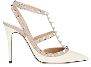 Valentino Pigalle Stiletto Patent 100mm white Pumps