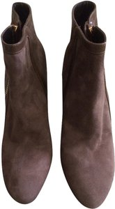 Tom Ford Ankle Suede Brown Boots