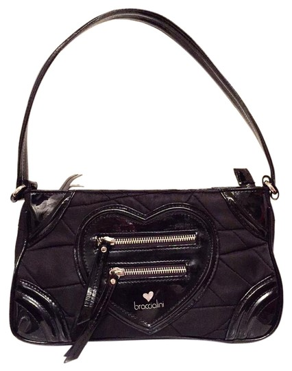 Preload https://img-static.tradesy.com/item/19750103/braccialini-tua-nylon-heart-handbag-black-patent-leather-shoulder-bag-0-1-540-540.jpg