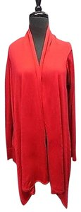 BCBGMAXAZRIA Crimson Silk Sweater