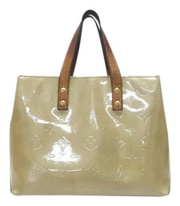 Louis Vuitton Vernis Neverfull Speedy Tote in Beige