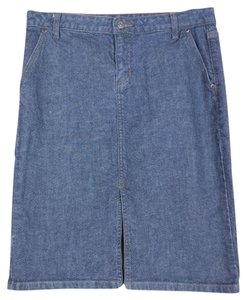 J.Crew Denim Skirt blue