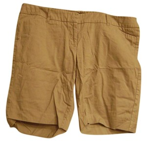 Mossimo Supply Co. Bermuda Shorts Beige