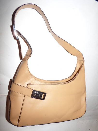 Salvatore Ferragamo Dressy Or Casual Mod And Linear Hard And Boxy Excellent Vintage Great For Everyday Hobo Bag