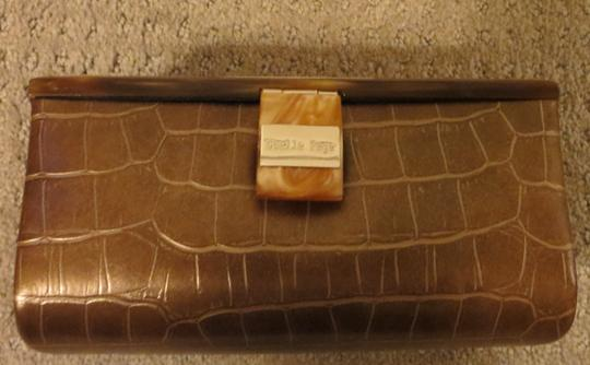 Stella Page Limited Edition Numbered Handbag Collectible Bronze, Browns Clutch
