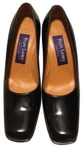 Ralph Lauren Collection Dark Brown Pumps