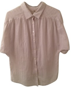 Ruehl No.925 Button Down Shirt light ivory with darker ivory stripes