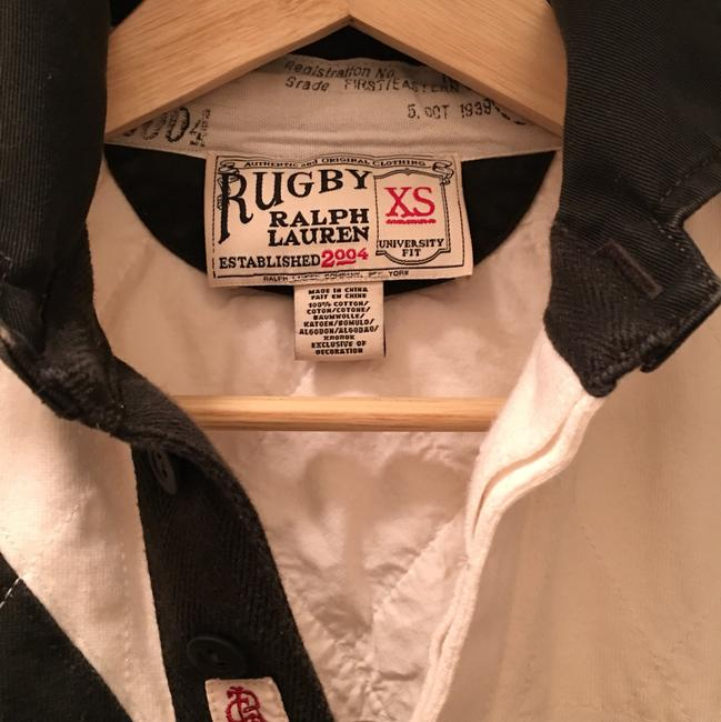 Rugby Ralph Lauren short dress White and navy blue on Tradesy