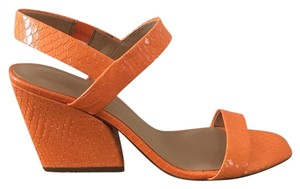Banana Republic Orange Patent leather Sandals