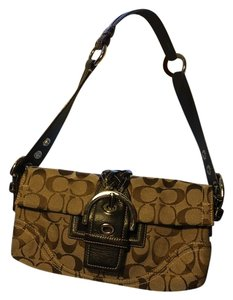 Coach Signature Monogram Monogram Iconic Signature Shoulder Bag