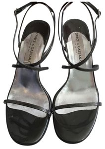 Dolce&Gabbana Dark Grey Sandals