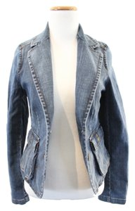 Burberry Denim Nova Check Womens Jean Jacket