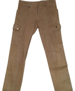 Tory Burch Straight Pants Tan