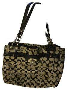 Coach Signature Satchel Shoulder Bag