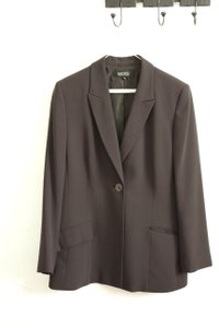Kasper Fitted Charcoal Blazer