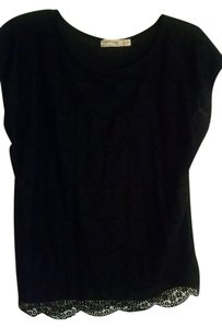 Faded Glory Top Black
