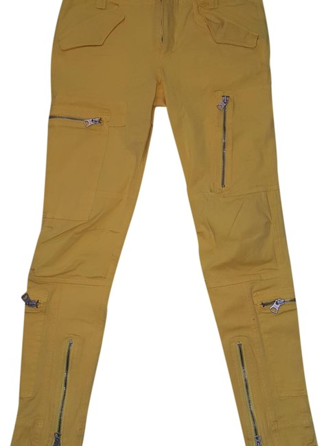 Preload https://img-static.tradesy.com/item/19751555/ralph-lauren-mustard-yellow-skinny-pants-size-6-s-28-0-1-650-650.jpg