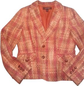 Kasper ASL Petite orange tweed Blazer