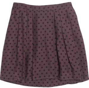 Madewell Mini Skirt Plum