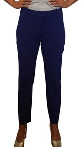 Theory Work Straight Pants Blue