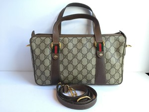 Gucci Signature Speedy Vintage Cross Body Bag