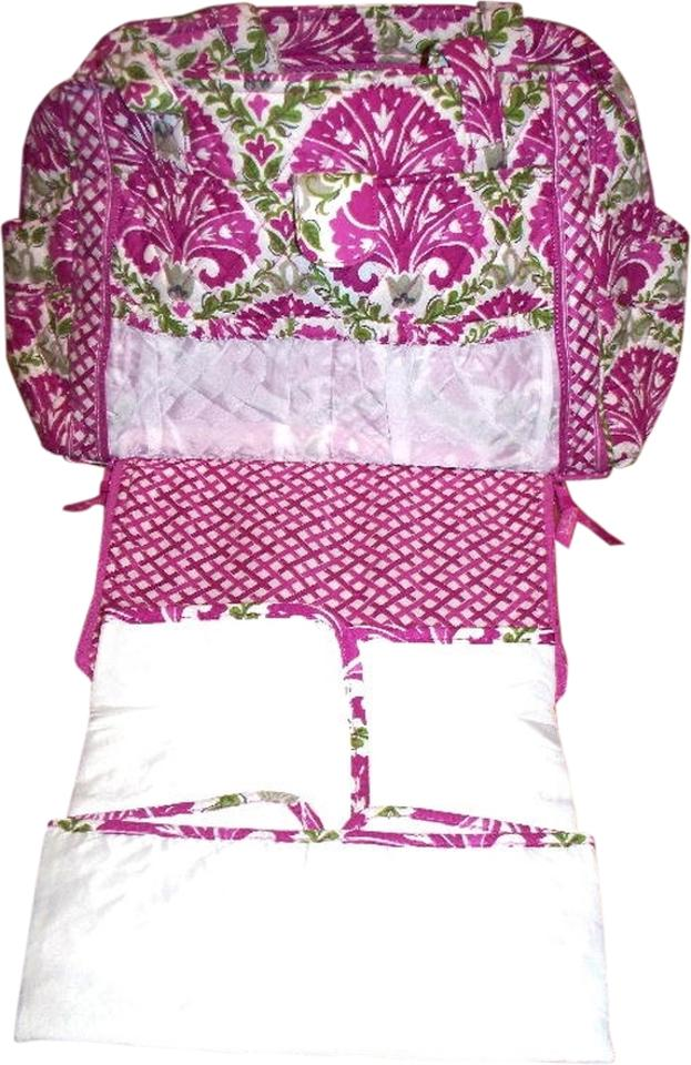 vera bradley make a change nwt julep tulip fushia diaper bag julep tulip tradesy. Black Bedroom Furniture Sets. Home Design Ideas