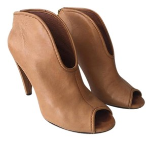 Vince Camuto Open Toe Bootie Leather Boots