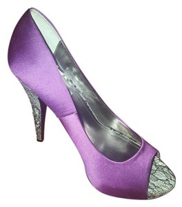 Steve Madden Rhinestones Pump Purple Pumps