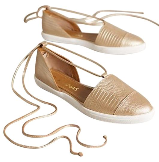 Preload https://img-static.tradesy.com/item/19752486/anthropologie-gold-kaanas-st-maarten-ankle-wrap-flats-size-us-8-regular-m-b-0-2-540-540.jpg