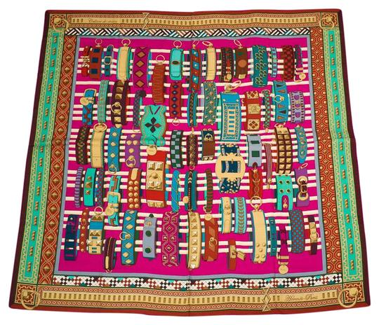 Preload https://img-static.tradesy.com/item/19752496/hermes-multicolor-colliers-de-chien-cashmere-and-silk-shawl-140cm-scarfwrap-0-1-540-540.jpg