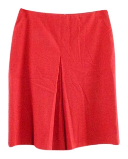 Preload https://img-static.tradesy.com/item/19752595/sisley-red-center-pleat-knee-length-skirt-size-4-s-27-0-1-650-650.jpg